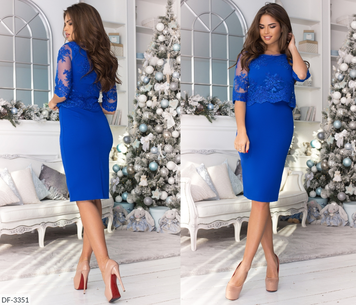 Платье DF-3351
