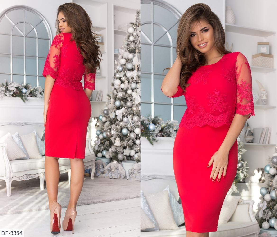 Платье DF-3354