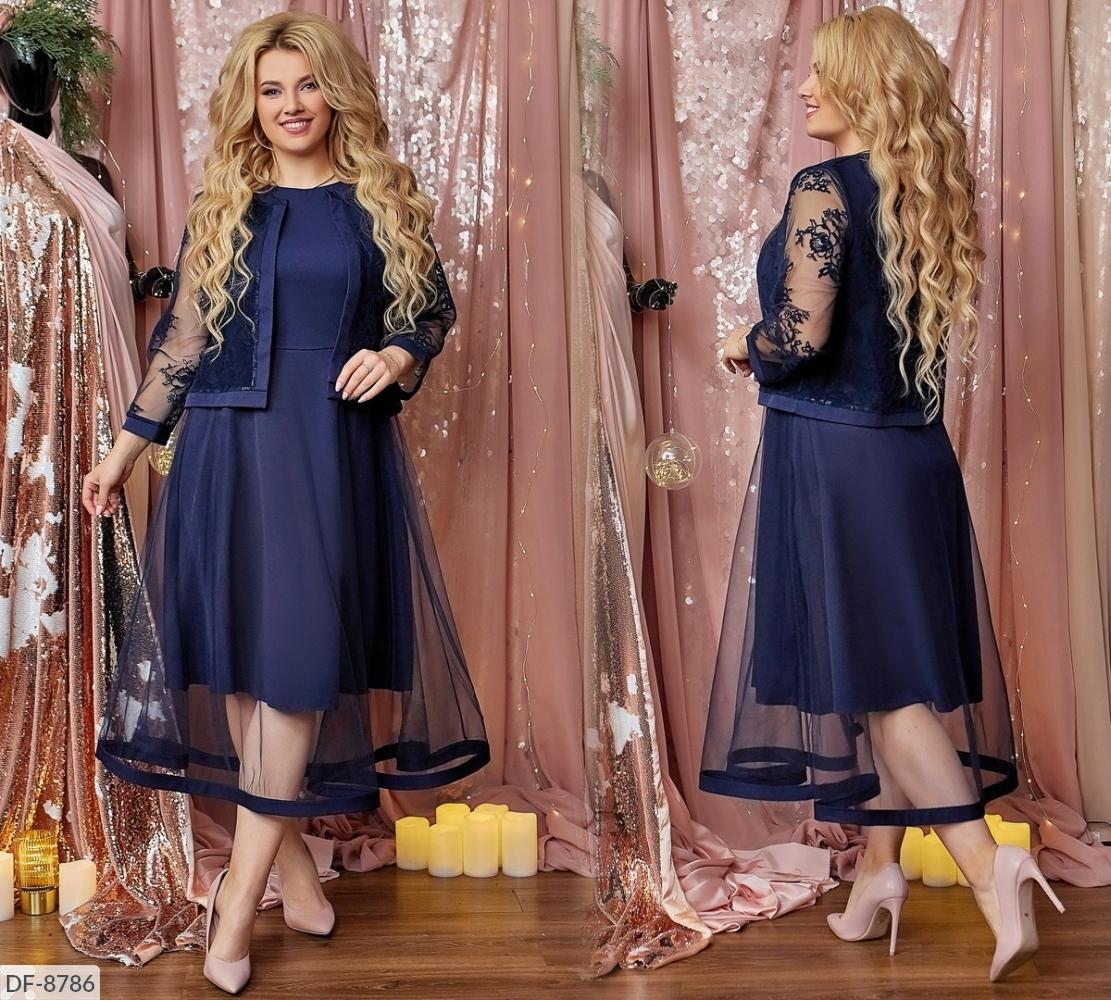 Платье DF-8786