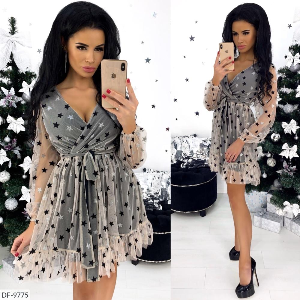 Платье DF-9775