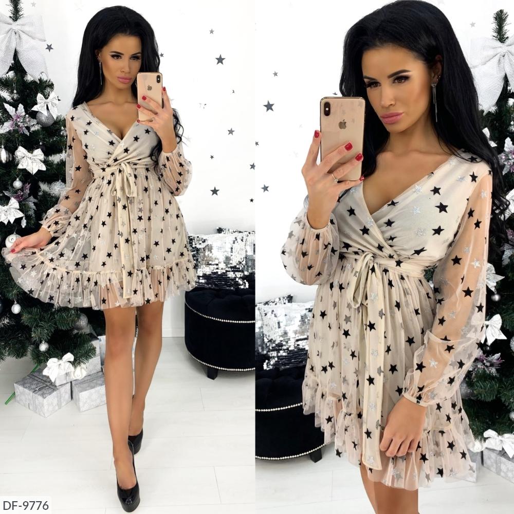 Платье DF-9776