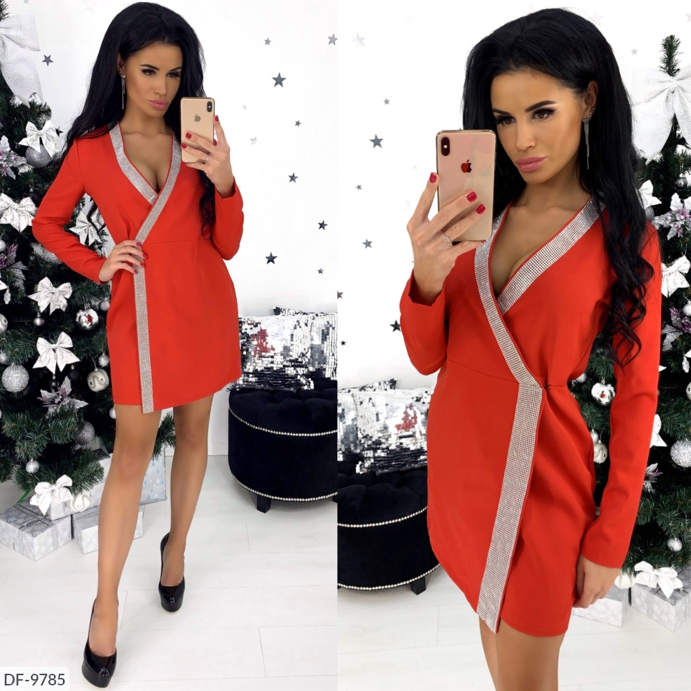 Платье DF-9785