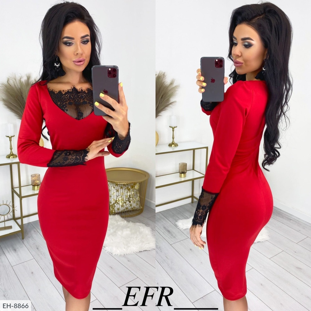 Платье EH-8866