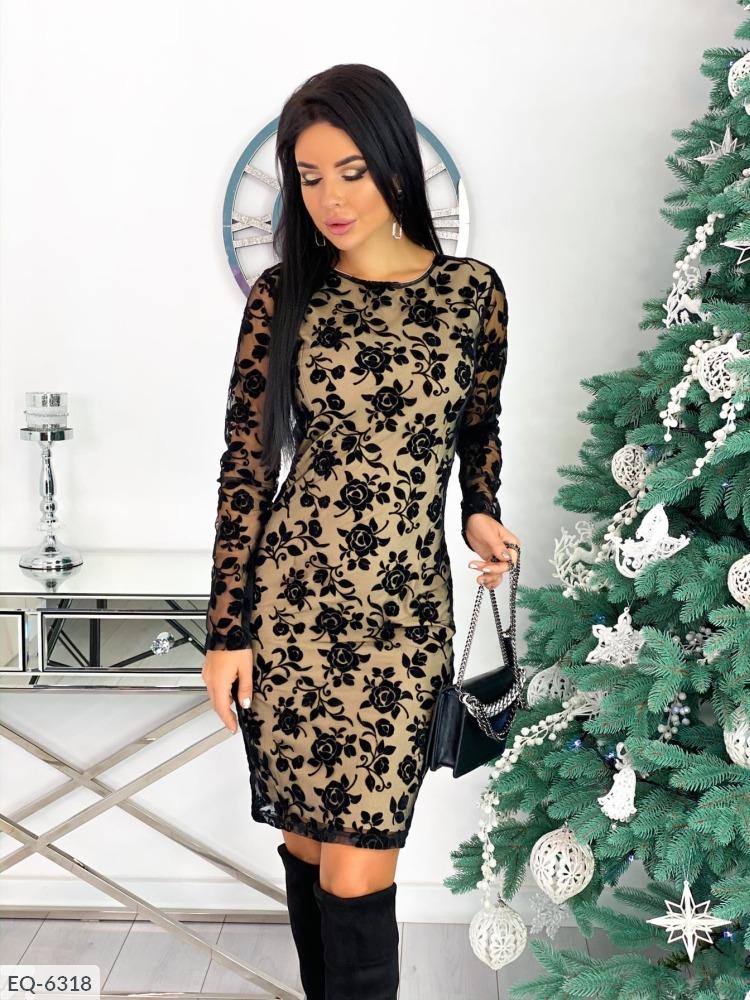 Платье EQ-6318