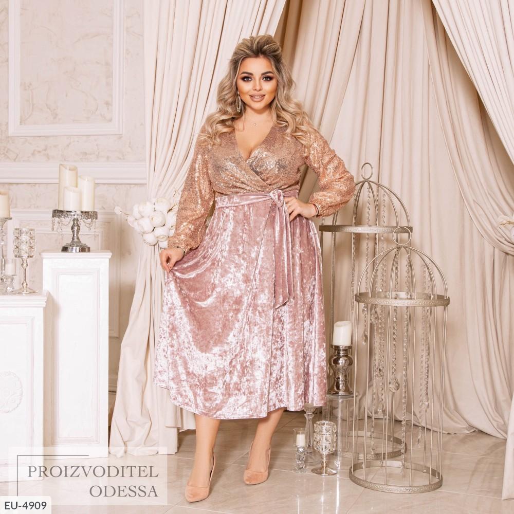 Платье EU-4909