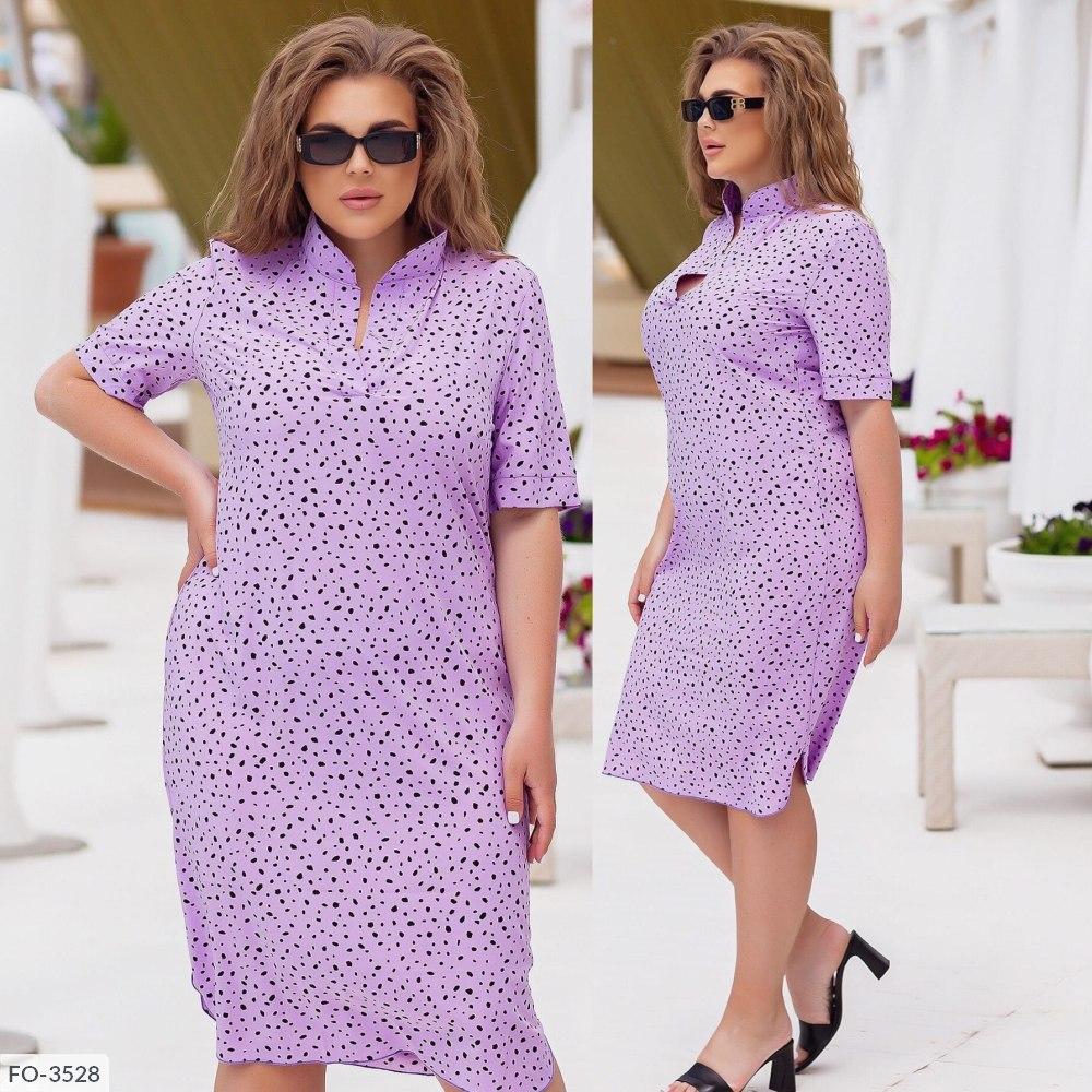 Платье-Рубашка FO-3528