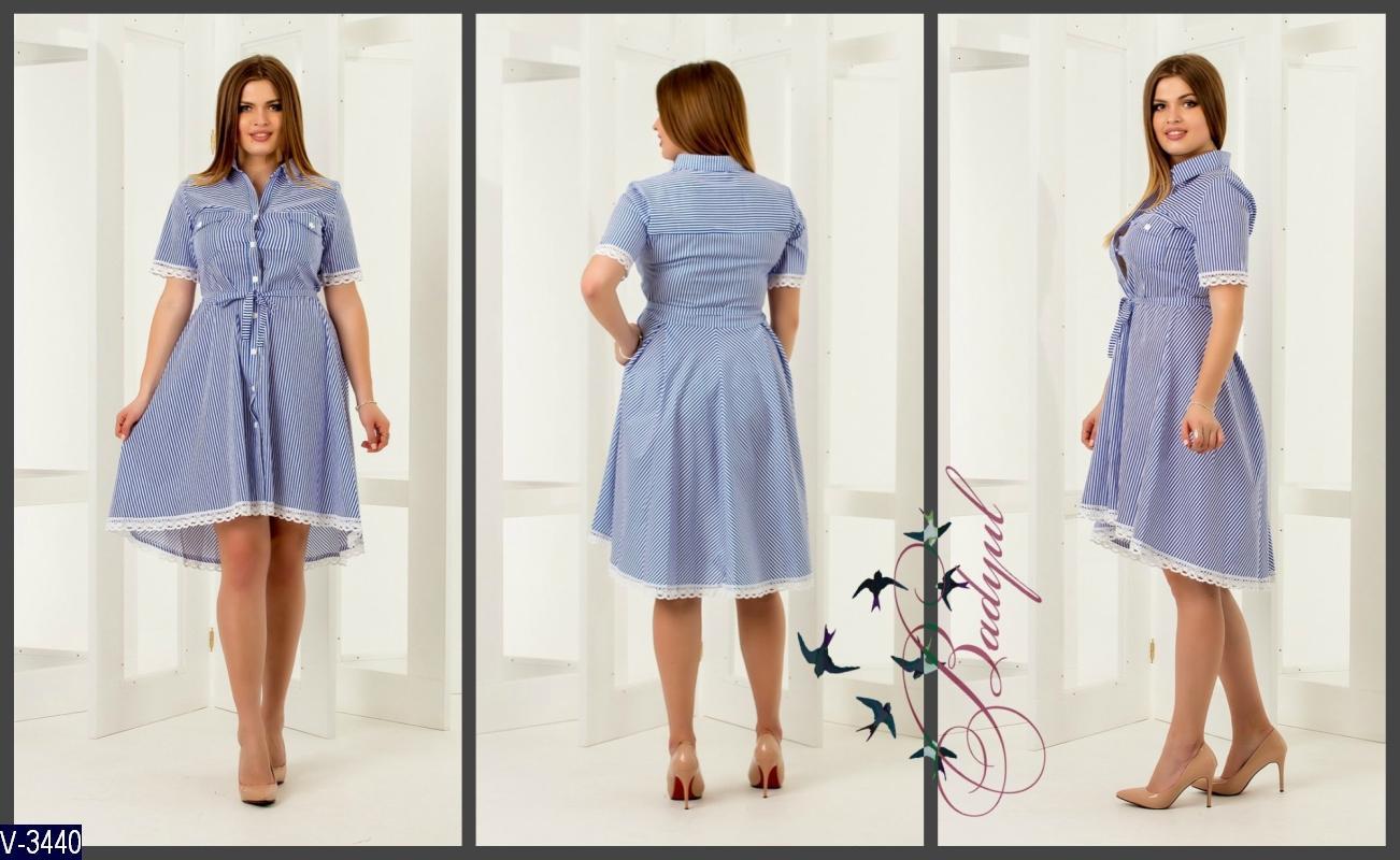 Платье V-3440