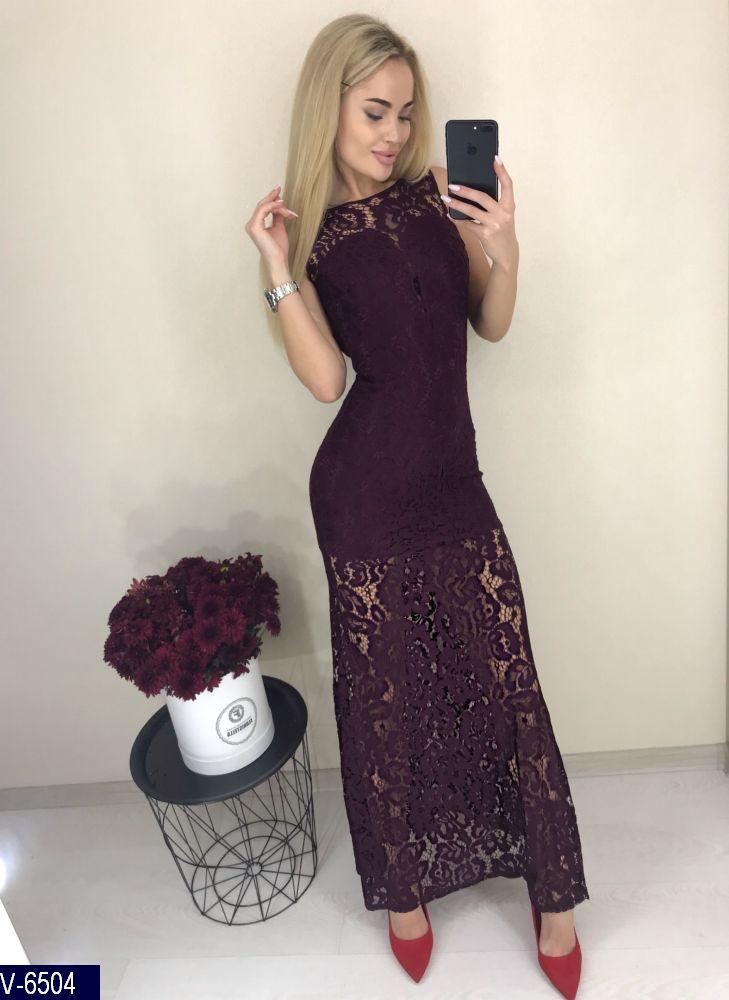 Платье V-6504